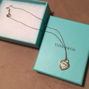 Authentic Tiffany & Co heart ❤️ 925 necklace